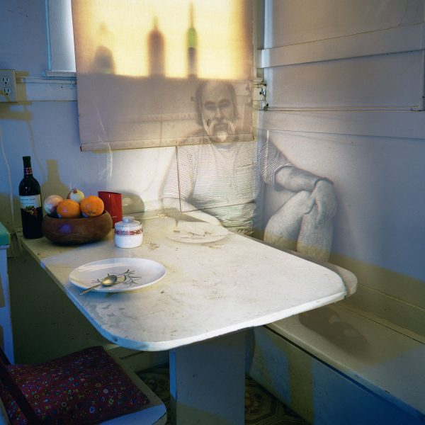 "UNTITLED MEMORY (SLIDE PROJECTION OF ARMAND V.) 1998 Chromogenic photograph, 40 x 47"" Image courtesy of Jack Shainman Gallery, New York"