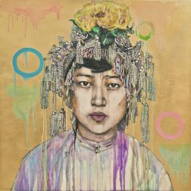 <em>Da Fan Che – Gold I</em>, 2018