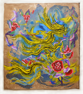 <em>Yellowave (Rose)</em>, 2020