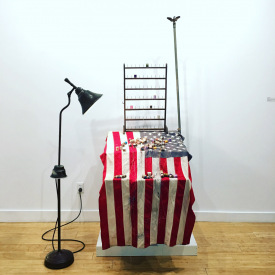 <em>Defiance (All the Colors to the American Flag)</em>, 2018
