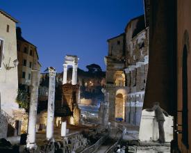 <em>Looking onto Temple of Apollo</em>, 2003