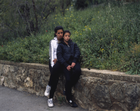 <em>Teens, Colombia Street, Jerusalem</em>, 2009