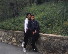 <em>Teens, Colombia Street, Jerusalem</em>, 2009